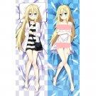 Angels of Death Rachel Gardner Anime Dakimakura Hugging Body Pillow Cover Case 2