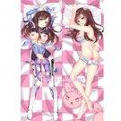 Overwatch OW Dakimakura D.Va Anime Girl Hugging Body Pillow Case Cover 03