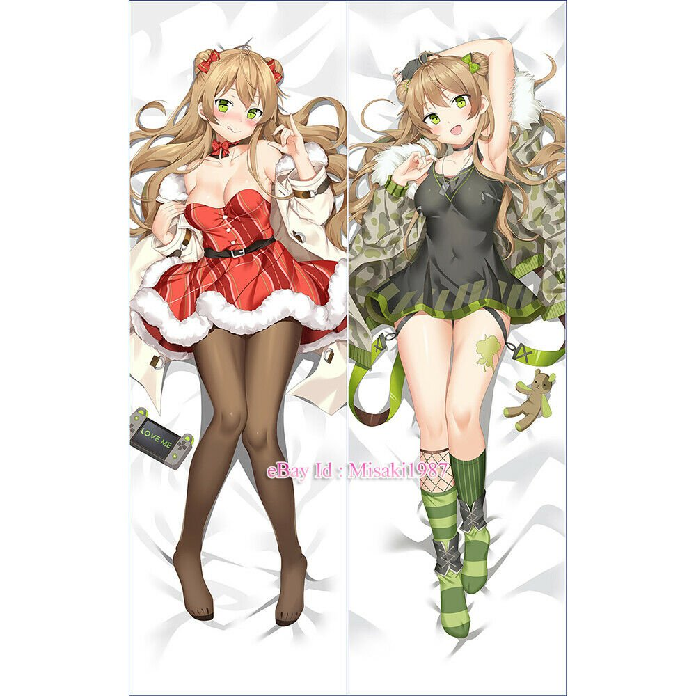 Girls' Frontline RFB Anime Girl Dakimakura Hugging Body Pillow Cover Case