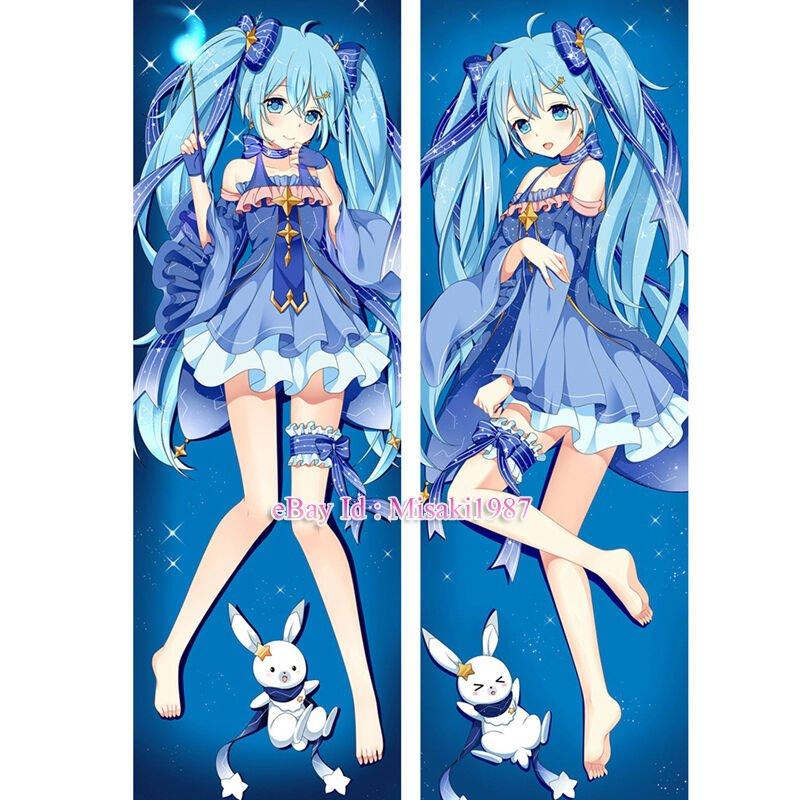 Vocaloid 2017 Dakimakura Hatsune Miku Anime Girl Hugging Body Pillow Cover Cases