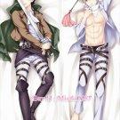 Attack On Titan Shingeki no Kyojin Dakimakura Levi Anime Body Pillow Case New 02