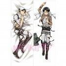 Attack On Titan Dakimakura Levi Anime Men Male Hugging Body Pillow Case Cover