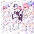 Re:Zero Dakimakura Rem Japanese Anime Girl Hugging Body Pillow Cases Cover