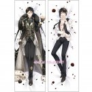 Black Butler Kuroshitsuji Dakimakura Sebastian Anime Male Body Pillow Case Cover