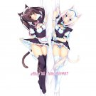 Nekopara Dakimakura Chocola Vanilla Anime Girl Hugging Body Pillow Case Cover