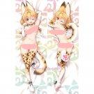 Kemono Friends Dakimakura Serval Anime Girl Hugging Body Pillow Case Covers