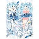 Vocaloid 2019 Snow Hatsune Miku Anime Dakimakura Hugging Body Pillow Case Covers