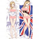 アズールレーン Azur Lane Hood Anime Girl Dakimakura Hugging Body Pillow Case Cover 2