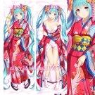 Vocaloid Dakimakura Hatsune Miku Anime Hugging Body Pillow Case Cover new