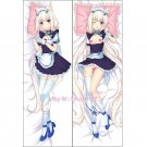 Nekopara Vanilla Anime Girl Dakimakura Hugging Body Pillow Case Cover 2