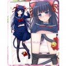 Oreimo Dakimakura Ruri Gokou Kuroneko Anime Girl Hugging Body Pillow Cases Cover