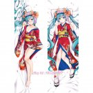Vocaloid Dakimakura Hatsune Miku 初音ミク~花色衣~Anime Hugging Body Pillow Case Cover