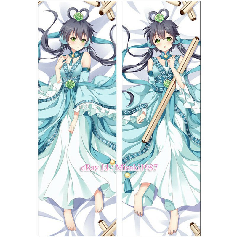 Vocaloid China Dakimakura Luo Tianyi Anime Girl Hugging Body Pillow Cover Case
