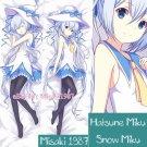 Vocaloid 2016 Dakimakura Snow Hatsune Miku Anime Girl Hugging Body Pillow Cases