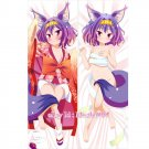 No Game No Life Dakimakura Hatsuse Izuna Anime Hugging Body Pillow Case Cover