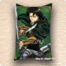 70cm x 40cm Attack On Titan Dakimakura Levi Anime Hugging Pillow Case Cushion