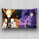 Naruto Dakimakura Uzumaki Sasuke Uchiha Decorative Anime Boy Pillow Case Cushion