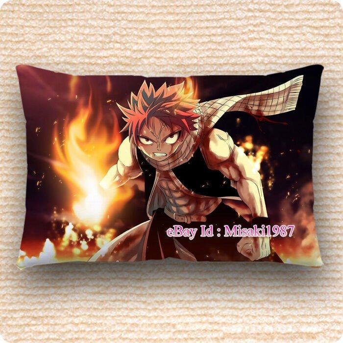 Fairy Tail Dakimakura Natsu Dragneel Anime Hugging Pillow Case Cover Cushion