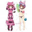 Sword Art Online GGO Llenn Anime Girl Dakimakura Hugging Body Pillow Case Cover