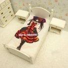 Original Date A Live Kurumi Tokisaki Anime Girl Bed Sheet Summer Quilt Blanket