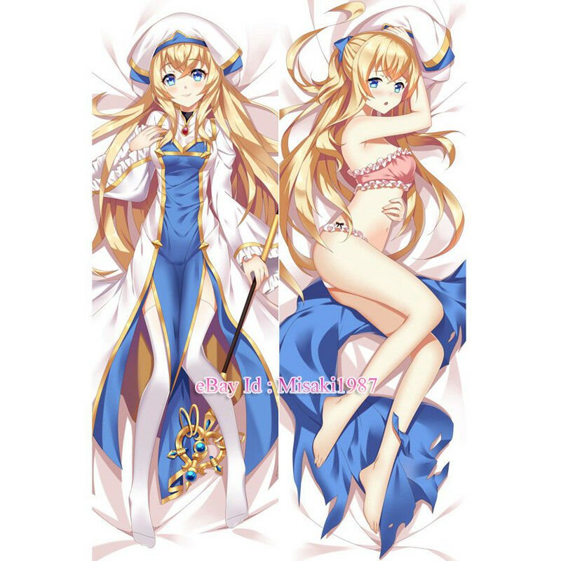 Goblin Slayer Priestess Anime Girl Dakimakura Hugging Body Pillow Case Cover