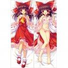 Touhou Project Reimu Hakurei Dakimakura Anime Hugging Body Pillow Case Covers 2