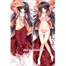 Touhou Project Kaguya Houraisan Anime Dakimakura Hugging Body Pillow Case Cover