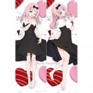 Kaguya-sama Dakimakura Fujiwara Chika Anime Girl Hugging Body Pillow Case Cover