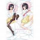 WataMote Tomoko Kuroki Anime Girl Dakimakura Hugging Body Pillow Case Cover 2