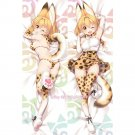 Kemono Friends Dakimakura Serval Anime Girl Hugging Body Pillow Case Cover