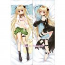 To Love-Ru Dakimakura Eve Golden Darkness Anime Hugging Body Pillow Case Cover