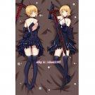 Fate/Grand Order FGO Anime Dakimakura Black Saber Hugging Body Pillow Case Cover