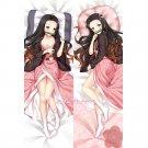 Demon Slayer Anime Girl Dakimakura Kamado Nezuko Hugging Body Pillow Case Cover