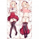 アズールレーン Azur Lane Leander Anime Girl Dakimakura Hugging Body Pillow Case Cover
