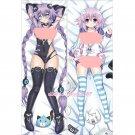 Hyperdimension Neptunia Anime Dakimakura Neptune Hugging Body Pillow Case Cover