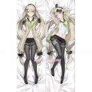 Girls' Frontline MG4 Anime Girl Dakimakura Hugging Body Pillow Case Cover