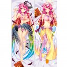 No Game No Life Dakimakura Jibril Anime Girl Hugging Body Pillow Case Cover 02