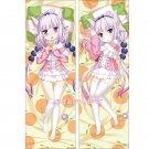 Miss Kobayashi's Dragon Maid Dakimakura Kanna Anime Girl Body Pillow Case Covers