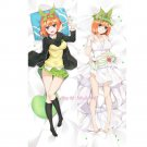 The Quintessential Quintuplets Yotsuba Nakano Anime Hugging Body Pillow Case