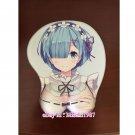 Re:Zero Rem Japanese Anime Girl 3D Mouse Pad Mat Wrist Rest 03