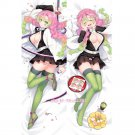 Demon Slayer Kanroji Mitsuri Anime Dakimakura Hugging Body Pillow Case Cover