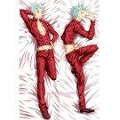 Sin Nanatsu no Taizai Dakimakura Ban Anime Hugging Body Pillow Case Cover
