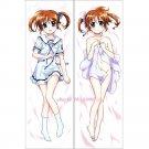 Magical Girl Lyrical Nanoha Dakimakura Nanoha Takamachi Anime Body Pillow Case