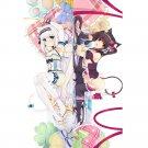 Nekopara Chocola Vanilla Anime Girl Dakimakura Hugging Body Pillow Case Covers