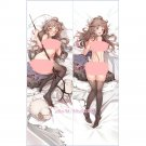 Arknights Eyjafjalla Anime Girl Dakimakura Hugging Body Pillow Covers Case