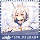 VER 2 アズールレーン Azur Lane Ayanami Anime Girl 3D Mouse Pad Mat Wrist Rest Milk Silk