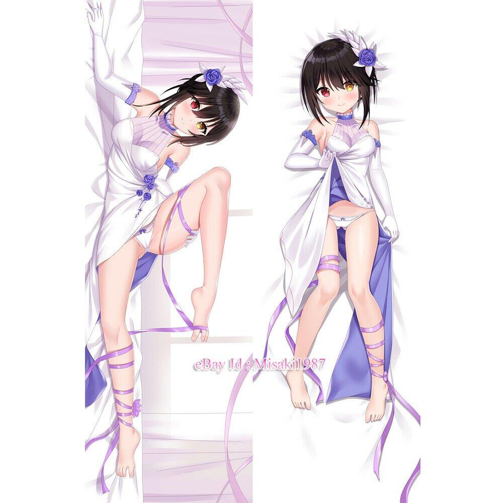 Date A Live Kurumi Tokisaki Anime Dakimakura Hugging Body Pillows Cover Cases