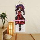 Date A Live Tokisaki Kurumi Anime Girl Poster Home Decor Wall Scroll Painting