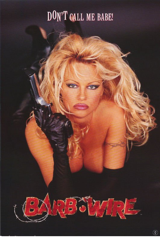 Pamela Anderson Barb Wire Don T Call Me Babe Rare Poster