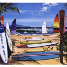 Surf And Sail Scott Westmoreland Art Print